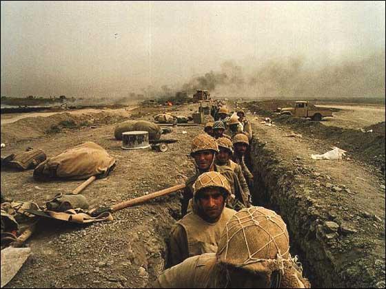 Obr. 2: Íránská obranná linie (zdroj: www.iranchamber.com).