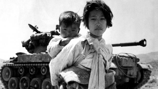 Obr. 1: Civilisté v Korejské válce. Zdroj: wikipedia.org
