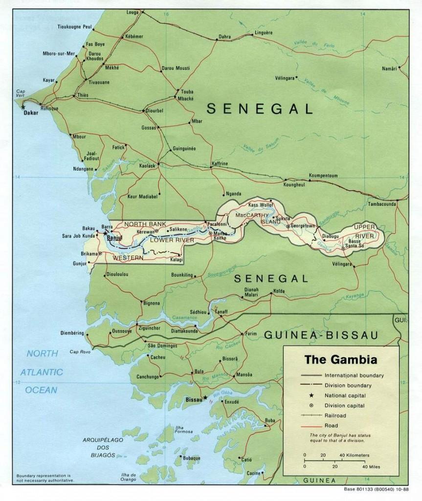 Hranice Gambie