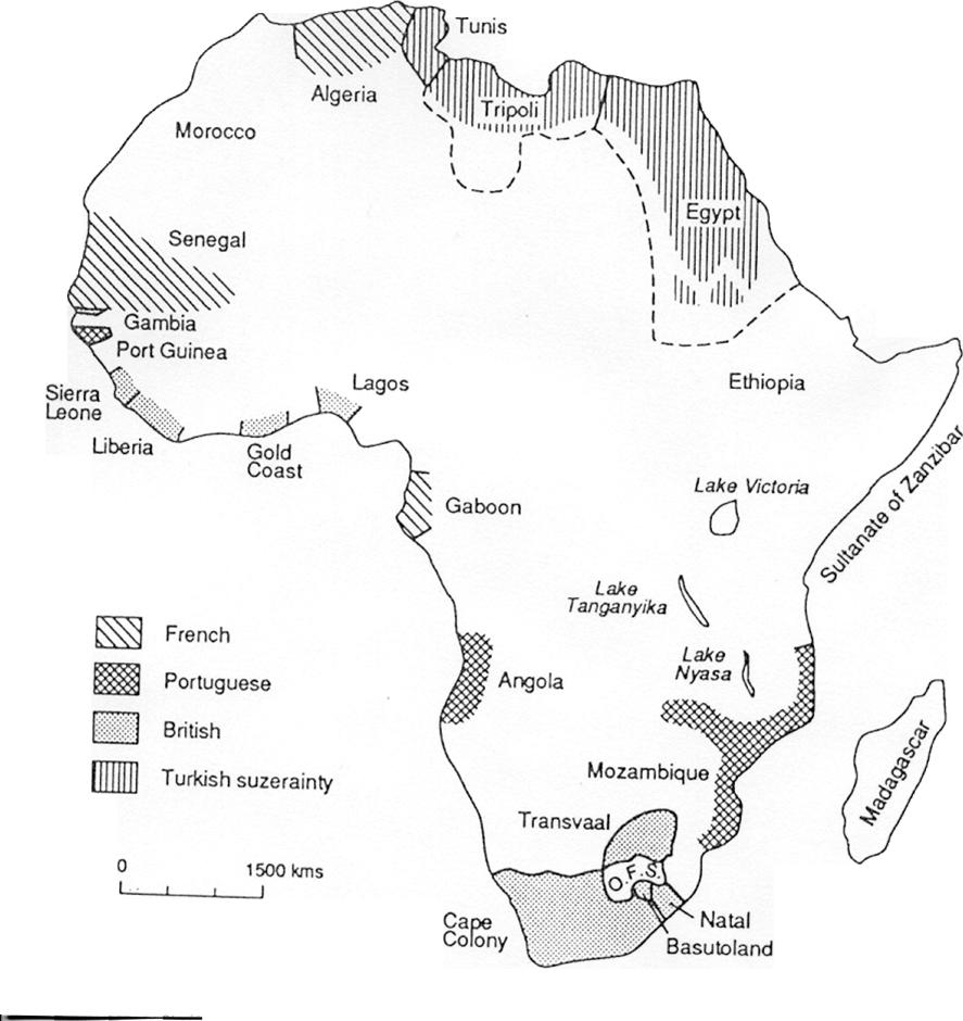 Afrika 1880