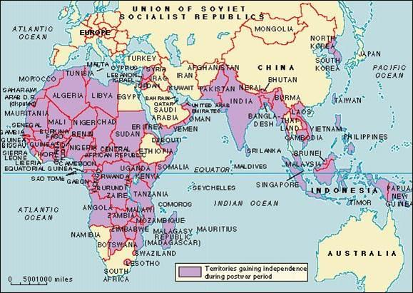 Dekolonizace po 2. sv. válce