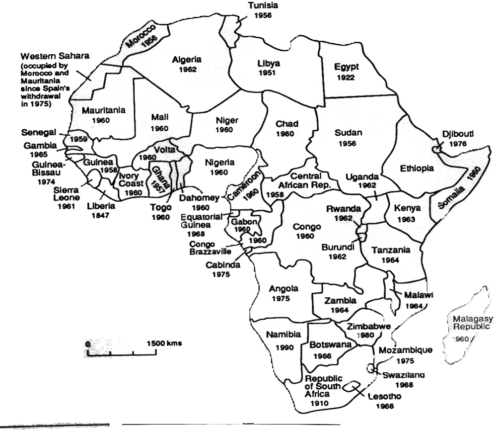 Dekolonizace v Africe